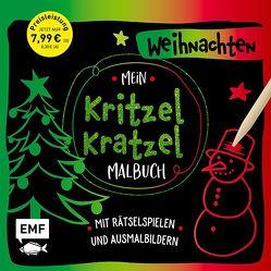 Mein Kritzel-Kratzel-Malbuch – Weihnachten