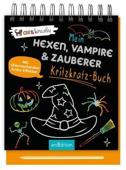 Mein Kritzkratz-Buch Hexen, Vampire & Zauberer