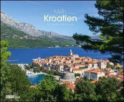 Mein Kroatien 2019 – Wandkalender 52 x 42,5 cm – Spiralbindung von DUMONT Kalenderverlag, Fotografen,  verschiedenen