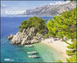Mein Kroatien 20190– Wandkalender 52 x 42,5 cm – Spiralbindung von DUMONT Kalenderverlag, Fotografen,  verschiedenen