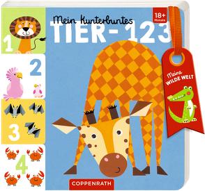 Mein kunterbuntes Tier-123 von Mußenbrock,  Anne