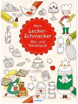 Mein Leckerschmecker Mal- und Rätselspaß von Danilova,  Lida, Dikaya,  Alexandra