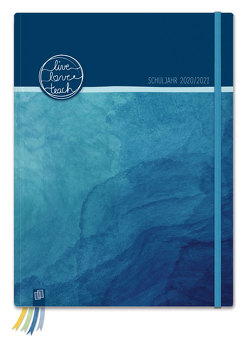 """Mein Lehrerplaner A4+ """"live – love – teach"""" – ozeanblau – Lehrerkalender für das Schuljahr 2020/2021 – Schulplaner für LehrerInnen von Verlag an der Ruhr,  Redaktionsteam"""