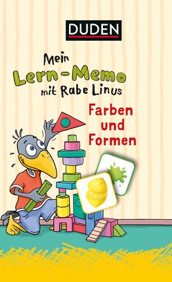 Mein Lern-Memo mit Rabe Linus – Farben und Formen von Raab,  Dorothee