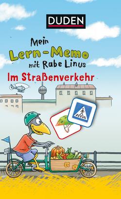 Mein Lern-Memo mit Rabe Linus – Im Straßenverkehr von Raab,  Dorothee