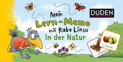 Mein Lern-Memo mit Rabe Linus – In der Natur von Abel,  Bettina, Leuchtenberg,  Stefan, Raab,  Dorothee