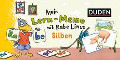 Mein Lern-Memo mit Rabe Linus – Silben von Abel,  Bettina, Leuchtenberg,  Stefan, Raab,  Dorothee