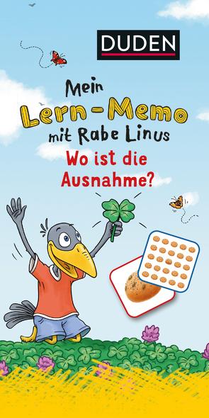 Mein Lern-Memo mit Rabe Linus – Wo ist die Ausnahme? von Leberer,  Sigrid, Leuchtenberg,  Stefan, Raab,  Dorothee