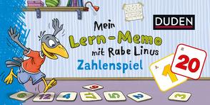 Mein Lern-Memo mit Rabe Linus – Zahlenspiel von Leberer,  Sigrid, Leuchtenberg,  Stefan, Raab,  Dorothee