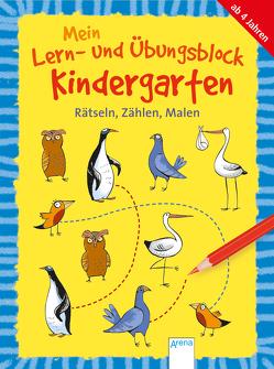 Mein Lern- und Übungsblock Kindergarten. Rätseln, Zählen, Malen von Bettzieche,  Uta, Seeberg,  Helen
