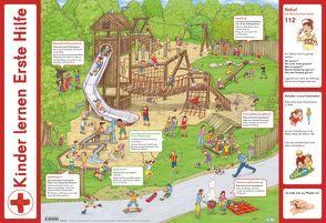 Mein Lernposter: Kinder lernen Erste Hilfe von Robitzky,  Marc