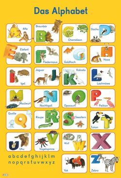 Mein Lernposter: VE 5 Das Alphabet