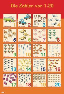 Mein Lernposter: VE 5 Erste Zahlen 1-20 von Fuhrmann,  Gisela