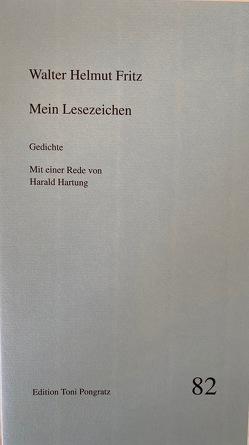 Mein Lesezeichen von Fritz,  Walter H