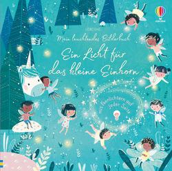 Mein leuchtendes Bilderbuch: Ein Licht für das kleine Einhorn von Hahessy,  Róisín, Taplin,  Sam