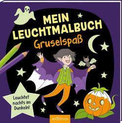 Mein Leuchtmalbuch – Gruselspaß von Metzen,  Isabelle