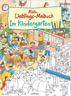 Mein Lieblings-Malbuch – Im Kindergarten von Gekle,  Stefanie, Wandrey,  Guido