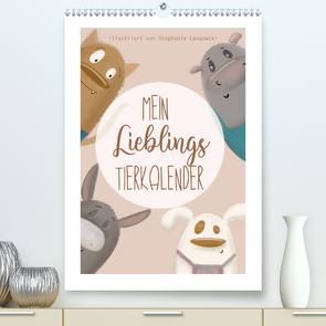 Mein Lieblings Tierkalender (Premium, hochwertiger DIN A2 Wandkalender 2020, Kunstdruck in Hochglanz) von Langowski,  Stephanie