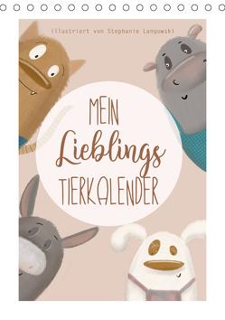 Mein Lieblings Tierkalender (Tischkalender 2020 DIN A5 hoch) von Langowski,  Stephanie