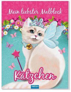 Mein liebster Malblock Kätzchen von Angelmahr,  Anja