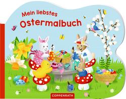 Mein liebstes Ostermalbuch von Bellermann,  Lena Maria