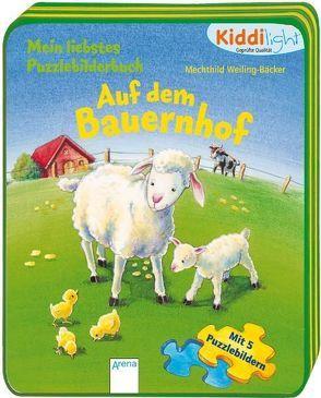 Mein liebstes Puzzlebilderbuch – Auf dem Bauernhof von Weiling-Bäcker,  Mechthild
