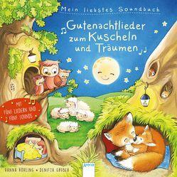 Mein liebstes Soundbuch. Gutenachtlieder zum Kuscheln und Träumen von Gruber,  Denitza, Röhling,  Hanna