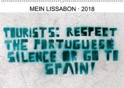 Mein Lissabon 2018 (Wandkalender 2018 DIN A2 quer) von Winkel,  Wolfgang