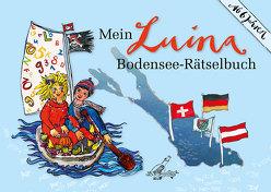 Mein Luina Bodensee-Rätselbuch von Kleiner,  Sabine, Steinmayer,  Stefanie