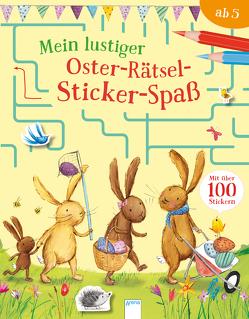 Mein lustiger Oster-Rätsel-Sticker-Spaß von Hughes,  Laura, Luers,  Ina