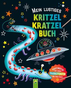 Mein lustiges Kritzel-Kratzel-Buch von Steingräber,  Mia