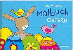Mein lustiges Malbuch. Ostern von Schmidt,  Sandra