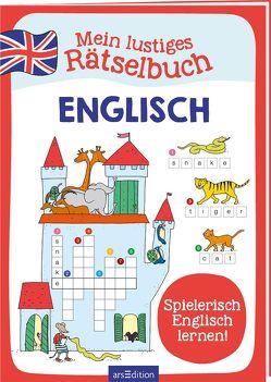 Mein lustiges Rätselbuch Englisch von Bartl,  Almuth, Schnabel,  Dunja