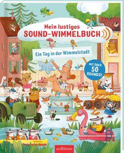 Mein lustiges Sound-Wimmelbuch – Ein Tag in der Wimmelstadt von Gertenbach,  Pina
