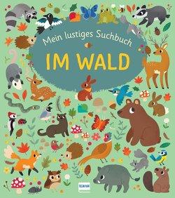 Mein lustiges Suchbuch – Im Wald von Barder,  Gemma, Stamper,  Claire, Wellner-Kempf,  Anke