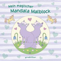 Mein magischer Mandala Malblock (Fuchs) von Metzen,  Isabelle