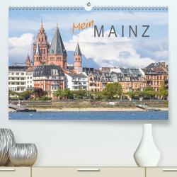 Mein Mainz (Premium, hochwertiger DIN A2 Wandkalender 2021, Kunstdruck in Hochglanz) von Scherf,  Dietmar