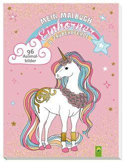 Mein Malbuch Einhörner & Zauberpferde