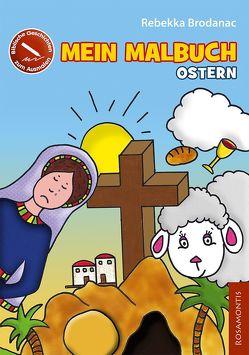 Mein Malbuch Ostern von Brodanac,  Rebekka