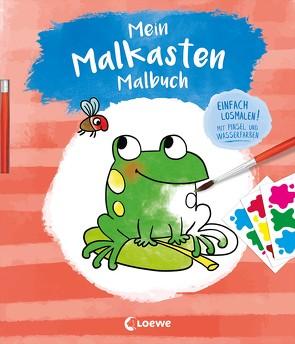 Mein Malkasten-Malbuch (Frosch) von Gertenbach,  Pina