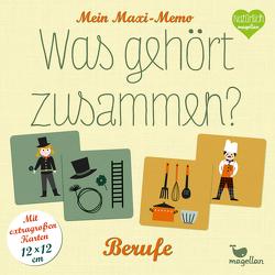 Mein Maxi-Memo – Was gehört zusammen? – Berufe von Merkel,  Daniela