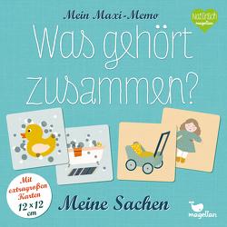 Mein Maxi-Memo – Was gehört zusammen? – Meine Sachen von Merkel,  Daniela