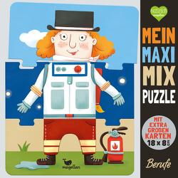 Mein Maxi-Mix-Puzzle – Berufe von Gertenbach,  Pina