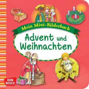 Mein Mini-Bilderbuch: Advent und Weihnachten von Funke,  Gertraud, Hebert,  Esther, Rensmann,  Gesa