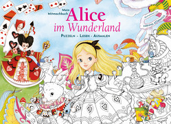 Mein Mitmachbuch: Alice im Wunderland von Attanasio,  Fabiana