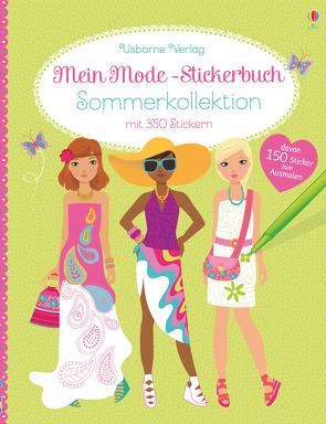 Mein Mode-Stickerbuch: Sommerkollektion von Baggott,  Stella, Donau,  Claudia, Watt,  Fiona