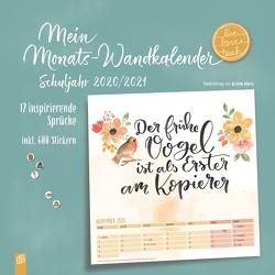 """Mein Monats-Wandkalender """"live – love – teach"""" von Verlag an der Ruhr,  Redaktionsteam"""