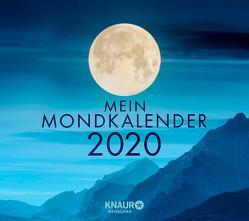 Mein Mondkalender 2020 von Wolfram,  Katharina