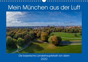 Mein München aus der Luft (Wandkalender 2020 DIN A3 quer) von AllesSuper