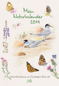Mein Naturkalender 2019 von Schmidt,  Christopher